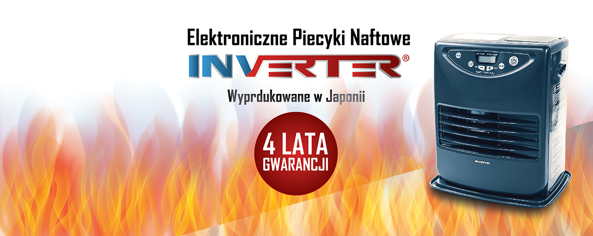 Elektroniczne piecyki naftowe INVERTER