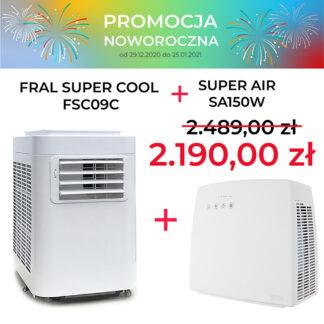 FRAL SUPER COOL FSC09C + SA150W PROMOCJA NOWOROCZNA