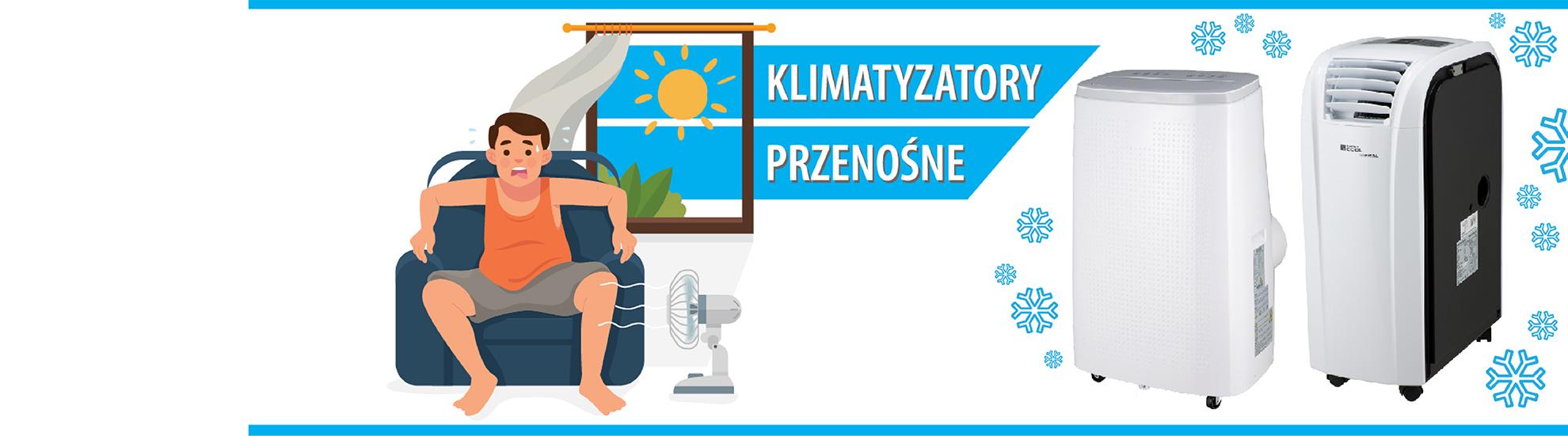 Klimatyzatory przenośne