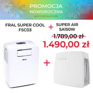 FRAL SUPER COOL FSC03 + SA150W PROMOCJA NOWOROCZNA