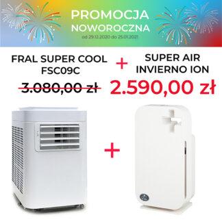 FRAL SUPER COOL FSC09C + INVIERNO ION PROMOCJA NOWOROCZNA